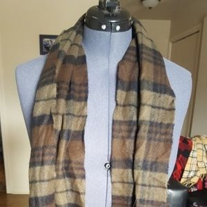 Softer Than Cashmere Brown Plaid
